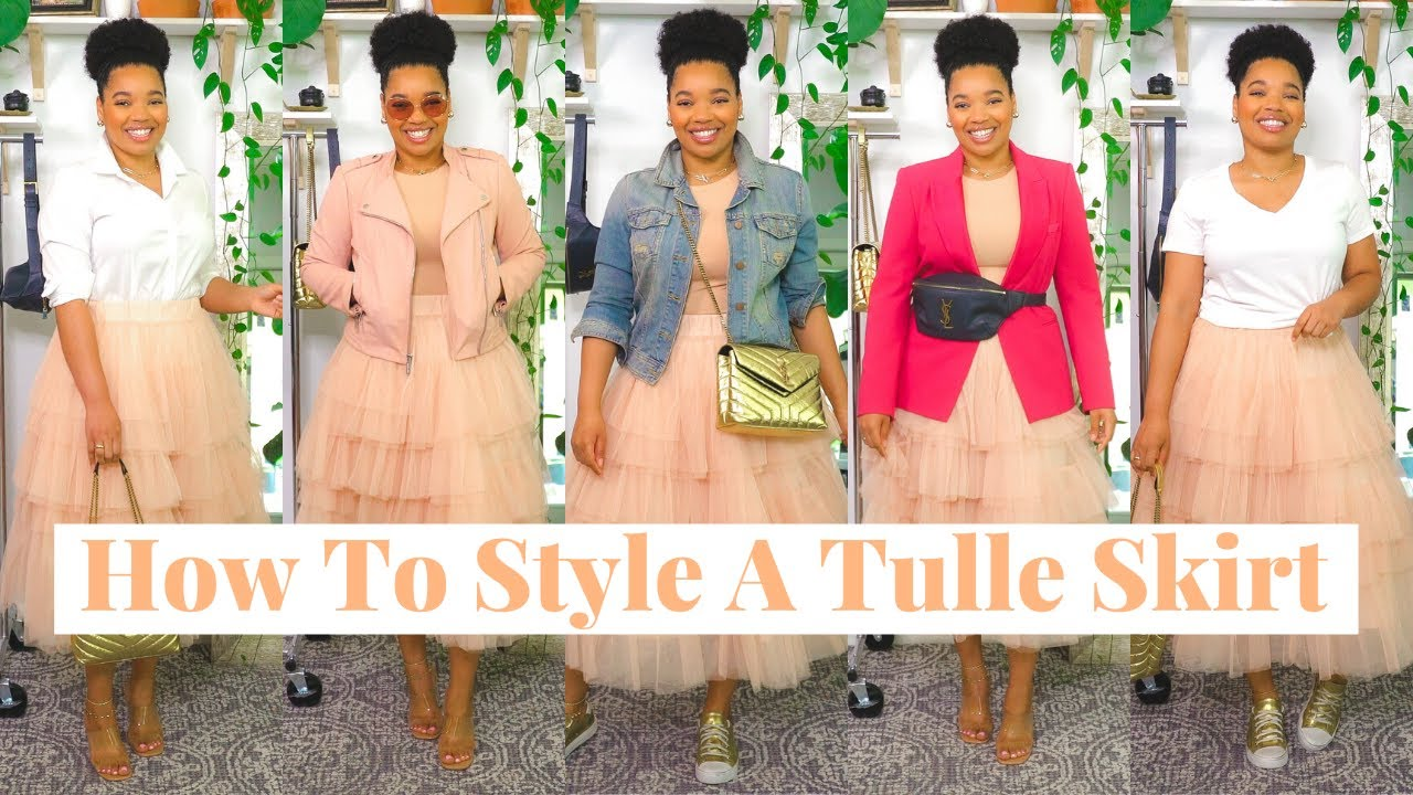 Outfit Ideas | How To Style A Tulle Skirt | Chicwish, YSL, Zara, Talbots, GAP