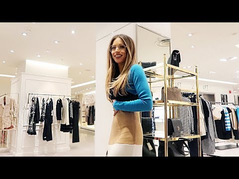 COME FASHION & BEAUTY SHOPPING WITH ME IN HARVEY NICHOLS | Lydia Elise Millen