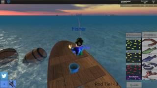ROBLOX #30 Simulador de Pesca-algo en el estilo de gato va a pescar