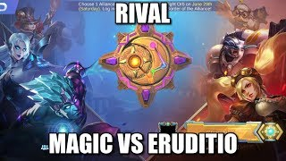 RIVALS MAGIC ACADEMY VS ERUDITIO