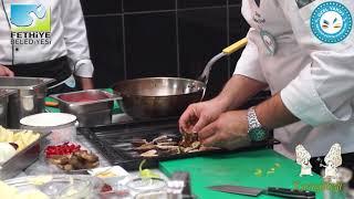 10. Yeşil Üzümlü Dastar ve Kuzu Göbeği Mantar Festivaline Özel Menü - MANTAR DOLMASI-
