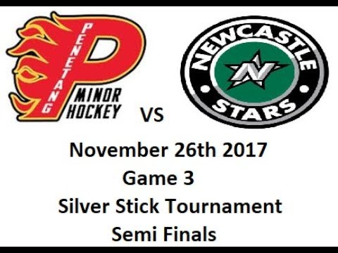 Penetang Flames vs NewCastle Stars November 26th 2017 Silver stick tournament Game 3