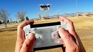 FQ777 124C HD Camera Nano Drone Flight Test Review