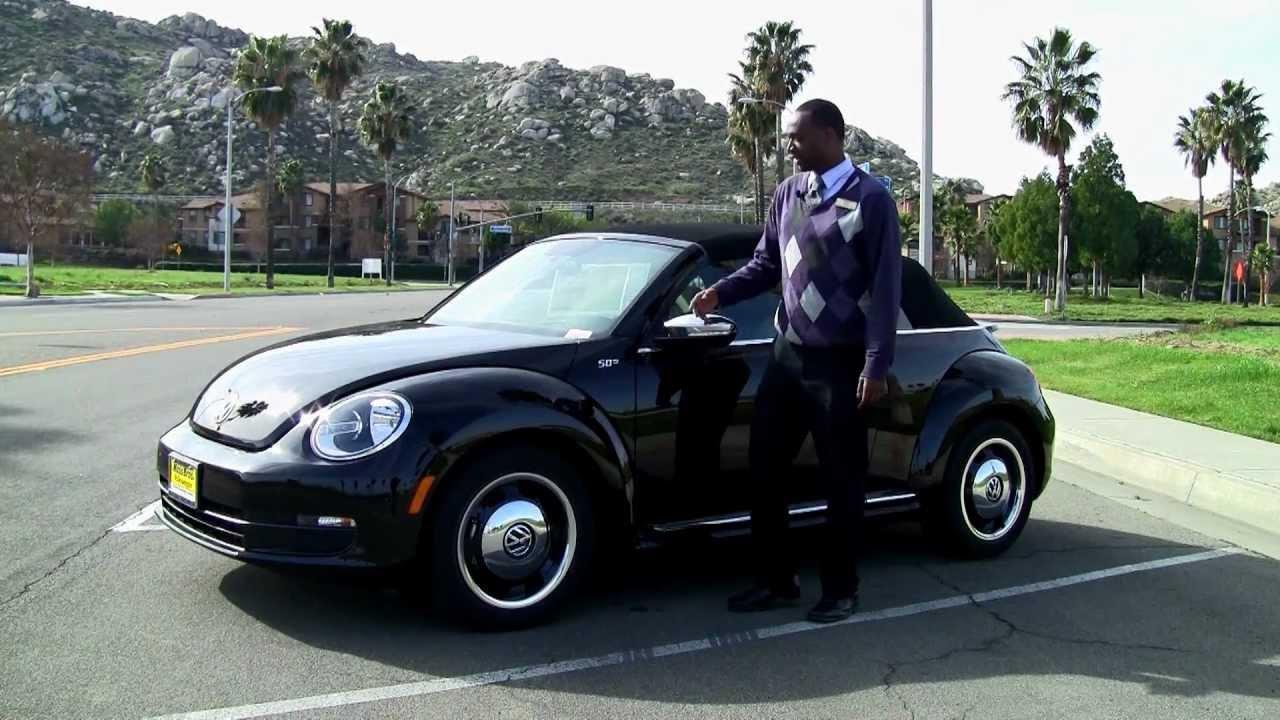 2013 Volkswagen Beetle at Moss Bros. Volkswagen - YouTube