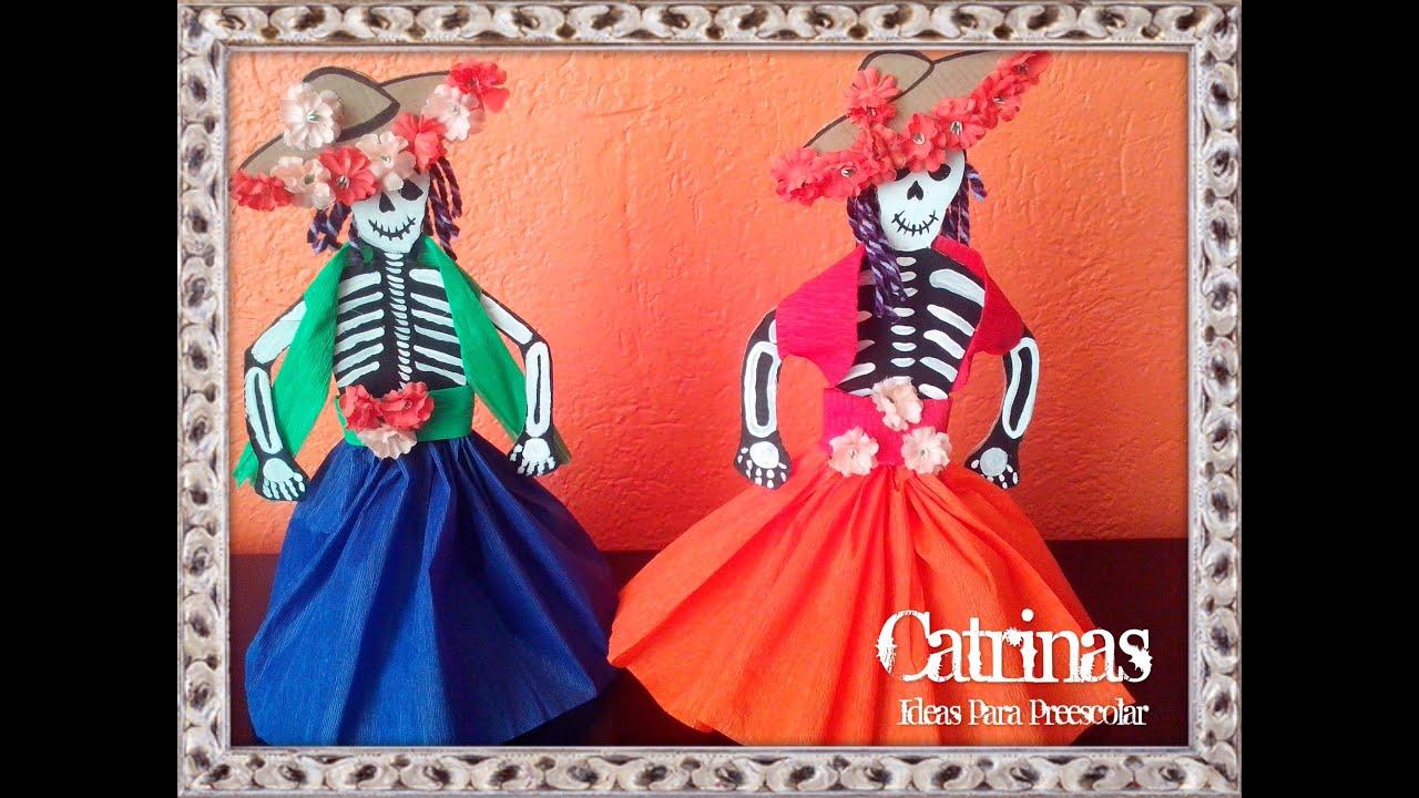Catrina(manualidad para niños) 2016,10,28