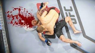 СМЕРТЕЛЬНЫЙ БРОСОК в UFC 3...