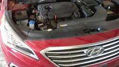 Hyundai sonata oil change