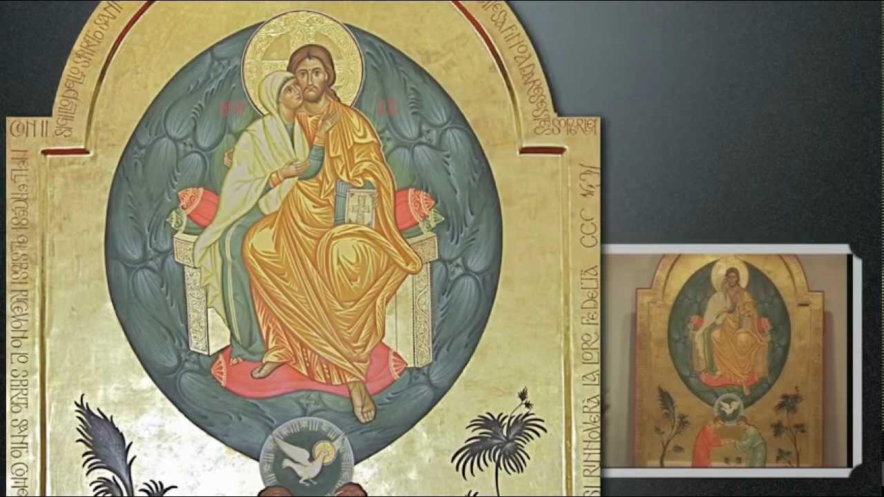 Nello Spirito Santo pienezza di vita per gli sposi -Icona