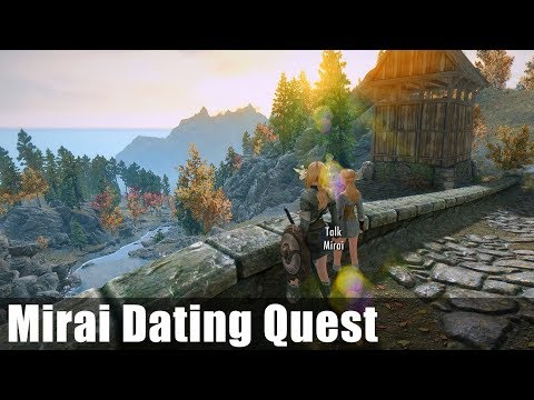 Skyrim Follower: Mirai Dating Quest Part 1
