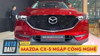 Mazda CX-5 bản nâng cấp ra mắt NGẬP TRÀN CÔNG NGHỆ: Camera 360, Apple CarPlay