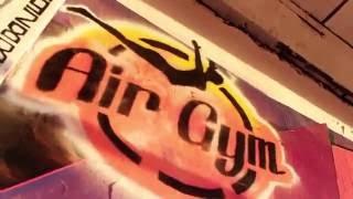 """Нижний Новгород. Батутные залы """"Гагарин"""" и """"Air Gym"""". По батутам."""