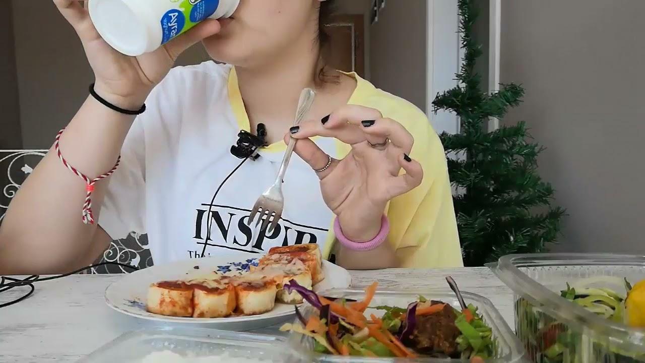 BEYTİ TURKISH LEZZET ASMR* Eating Sounds Relaxing * SOSLU BEYTİ
