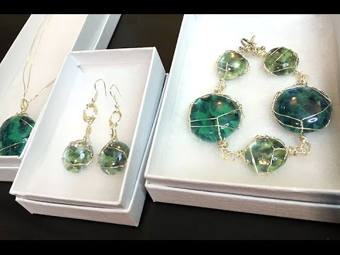 Turn Dollar Tree Glass Stones into Beautiful Jewelry