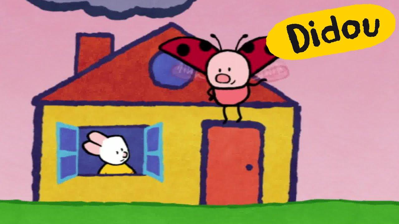 Maison didou dessine moi une maison dessins anim s for Apprendre a dessiner une maison