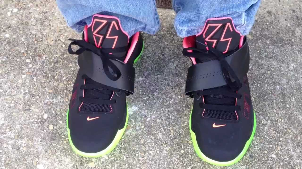 "Nike Zoom KD IV 4 ""Yeezy 2"" ""Nike iD"" on feet - YouTubeKd 4 On Feet"