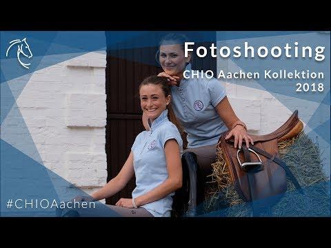 Fotoshooting CHIO Aachen Kollektion 2018