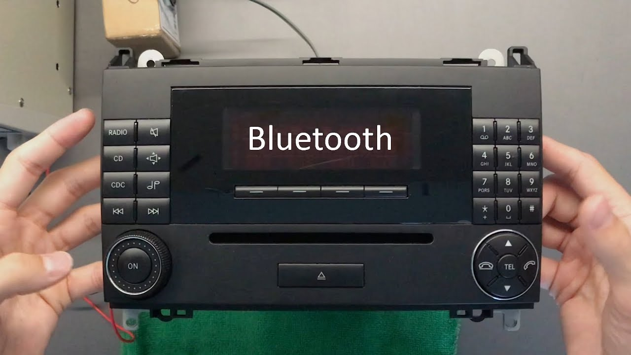 2007 mercedes benz audio 20 bluetooth integration youtube rh youtube com
