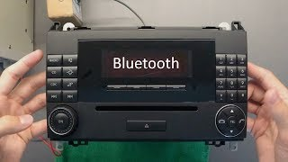 2007 Мерседес-Бенц Аудіо 20 Інтеграція Bluetooth