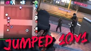 Putther vs Freemode Warriors 10v1 (GTA 5 Online)