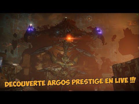 Destiny 2 - Argos Prestige en Live Découverte ! [Live du Raid Complet] [Sleeper 405]