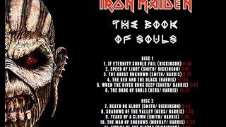 Iron Maiden - The Book of Souls (full album) [HIGH QUALITY]