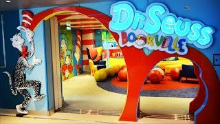 Carnival Freedom Cruise Tour of Dr. Seuss Bookville; Camp Ocean Kid