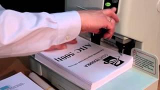 Полуавтоматическое устройство для архивного переплета АПС 500П