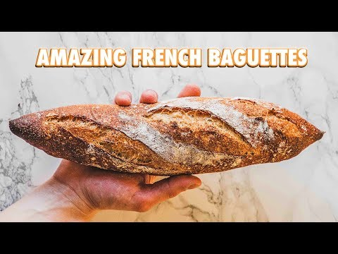 How To Make Traditional French Baguettes At Home