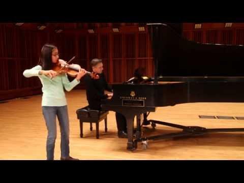 Maya Kilburn Age 12 violin Cinema Paradiso