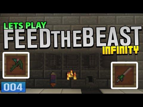 Lets Play - FTB Infinity - 'Making Alumite Tools! ' #4