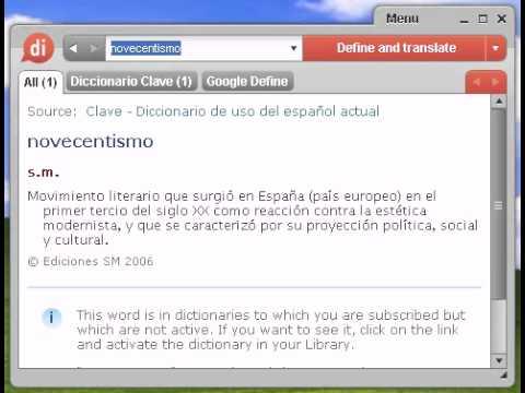 Definición de novecentismo