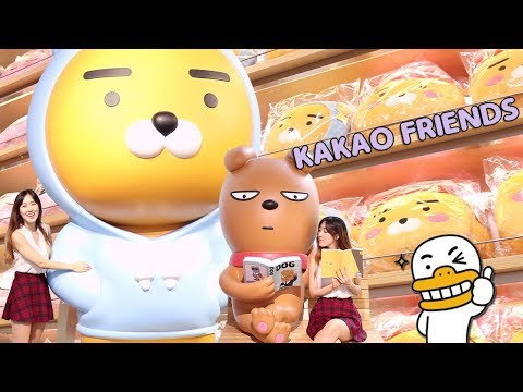 Kakao Friends Store Tour❤️ | Trendy shopping place in Seoul