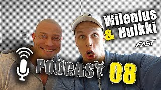 Wilenius & Hulkki PODCAST 08: huonojen lihasryhmien kehittäminen