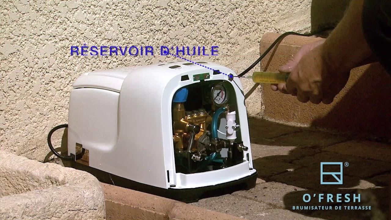 Brumisateur De Terrasse Et Brumisateur Exterieur O Fresh