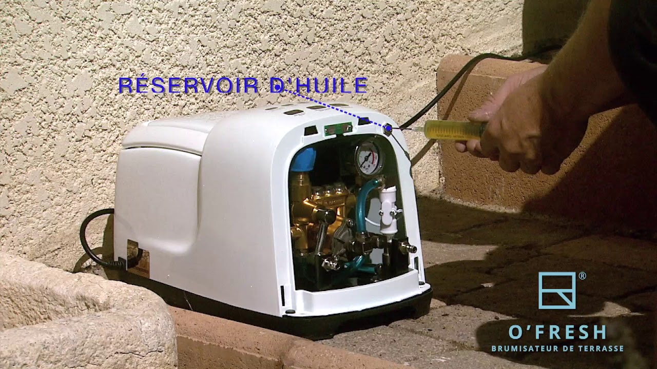 Brumisateur haute pression O'FRESH