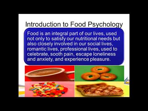 Psychology of eating-food psychology