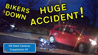 UK Dash Cameras - Compilation 47 - 2019 Bad Drivers, Crashes + Close Calls