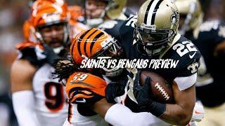 New Orleans Saints VS Cincinnati Bengals | Week 10 Preview & Predictions