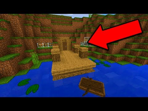 INSANE SURVIVAL HOUSE in Minecraft Pocket Edition (Epic Cliffs Base)
