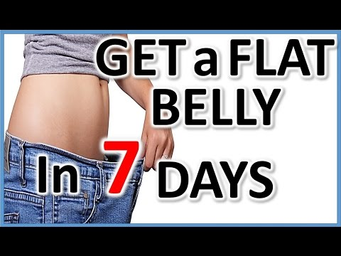 Lose weight fast in a week:How to burn Belly Fat Fast,Get a Flat & Sexy Tummy