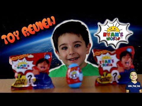 Ryan's World Toys Review    DJ opens Ryan's World Toys    Tubers FunFam