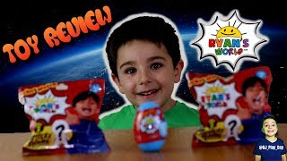 Ryan's World Toys Review || DJ opens Ryan's World Toys