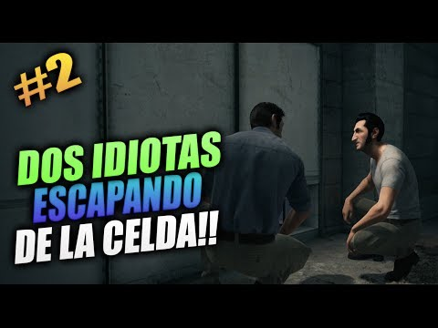 NOS ESCAPAMOS DE LAS CELDAS! | A WAY OUT #2