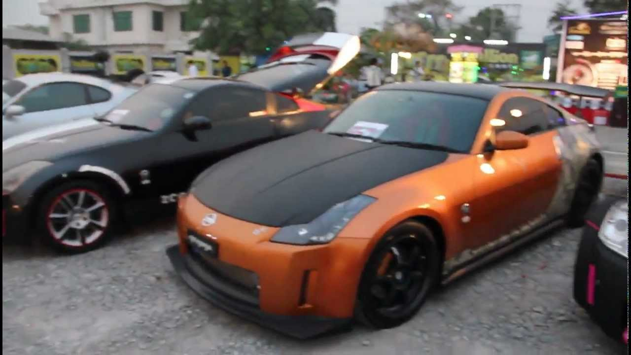 Exceptional Nissan Fairlady 350Z  First Ever Sport Cars Show In Mandalay 2013   YouTube