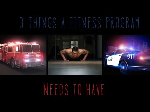 3 Things A Fitness Program Needs
