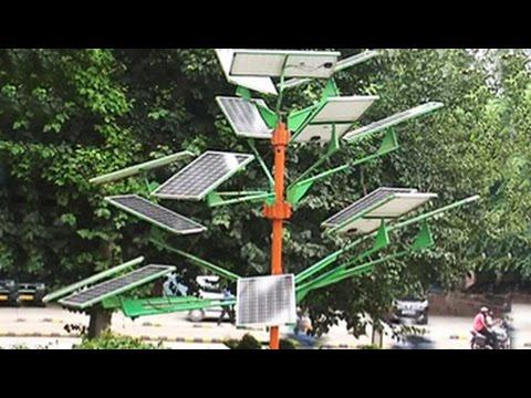 Advantages of a solar tree