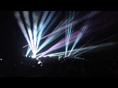 The xx - Night Time / Swept Away / Shelter (Live in Moscow, 23.07.2013)