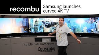 Samsung launches curved 4K Ultra HD TV