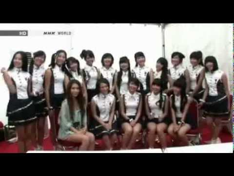 20121015 JKT48 Interview with May J @NHK World