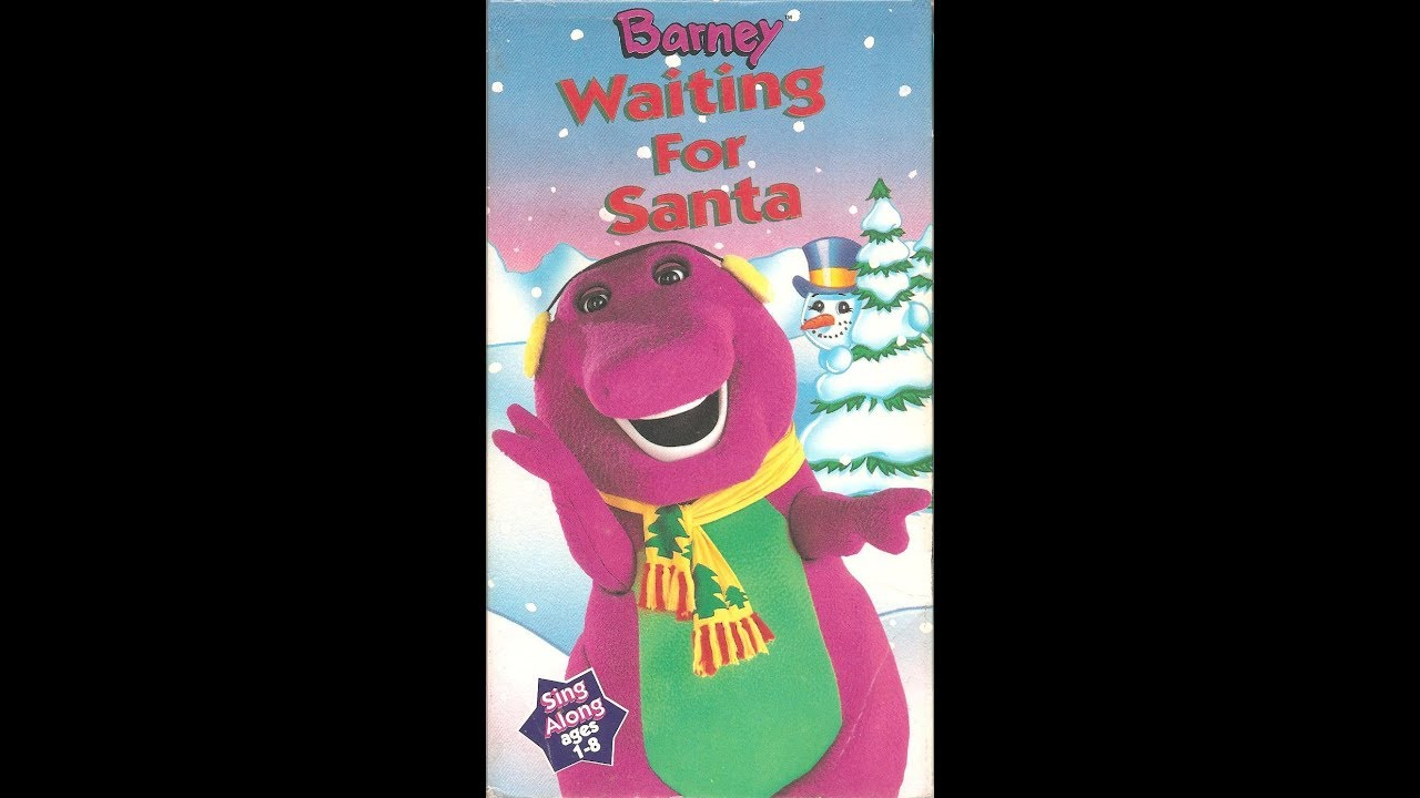 Barney's Waiting For Santa (1995 VHS Rip) (THE REAL DEAL ...